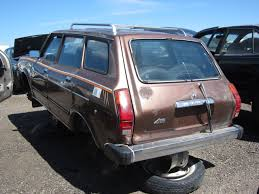 subaru station wagon junkyard find 1979 subaru gl wagon the truth about cars