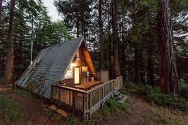 a frame homes ganhe uma noite no cozy a frame cabin in the redwoods casas para