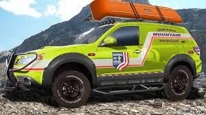 green subaru forester subaru forester mountain rescue concept at sema