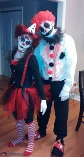 Evil Clown Halloween Costume 25 Scary Couples Costumes Ideas Scary