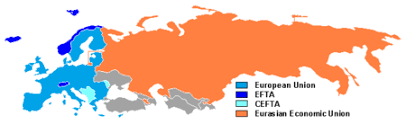 map of europe russia and the independent republics post soviet states
