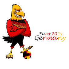 jovoto the german eagle aim shoot score your 2024 bid logo