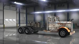 old kenworth trucks old rusty payware kenworth 521 v1 0 mod ats mod american truck