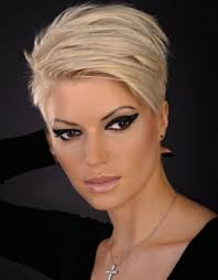 hair styles for thin short hair hair style and color for woman
