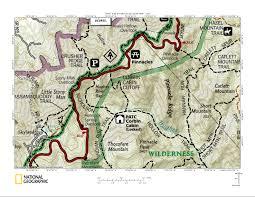 Appalachian Trail Virginia Map by Appalachian Trail