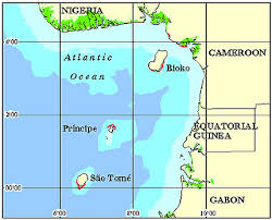 map of sao tome sao tome principe coral reef maps best snorkel dive locations
