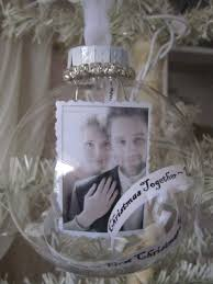 personalized ornaments wedding best 25 christmas together ornament ideas on