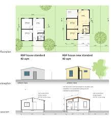 floor plan of rdp houses