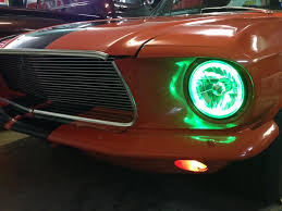 halo light installation near me 67 mustang hid headlights halo install classic cars and tools