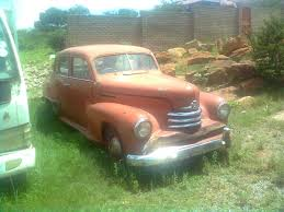 opel kapitan 1951 complete opel kapitan great restoring project for sale in the