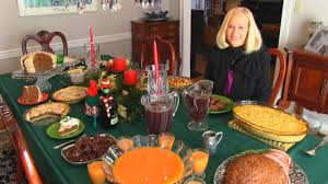 Dinner Table Betty U0027s Christmas Dinner Table 2015 Youtube