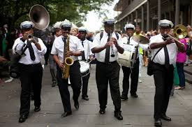 wedding bands new orleans new orleans second line i run for wine our wedding day in