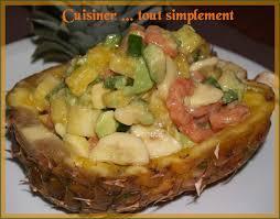 cuisiner l ananas ananas farci du sucré salé cuisiner tout simplement le