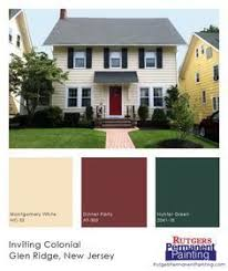 exterior paint color inspiration yellow navy cream u0026 red on a