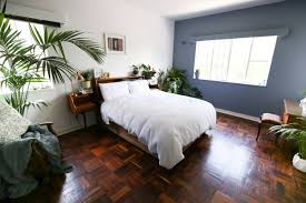 Mid Century Bedroom by Mid Century Bedroom Makeover She Said