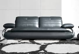 modern leather sofa jarvis bed with leather pad modern leather