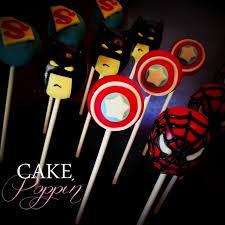 super hero cake pops spiderman cake pops superman cakepops batman