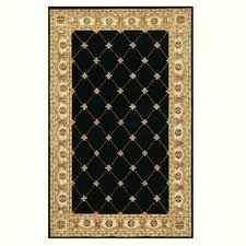 Home Decorators Com Rugs Home Decorators Collection Windsor Black 8 Ft X 11 Ft Area Rug