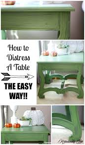 how to distress furniture the easy way collage craft and