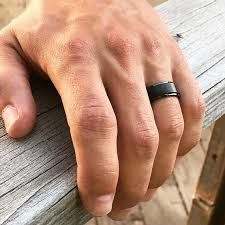 8mm ring men s black tungsten wedding band 8mm ring comfort fit