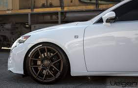 lexus is350 jdm lexus is350 f sport velgen wheels vmb5 bronze 19x9 u0026 19x10 5