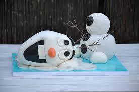 frozen olaf birthday cake partyrama blog