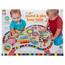 table toys play table alex toys alex jr sound and play busy table target