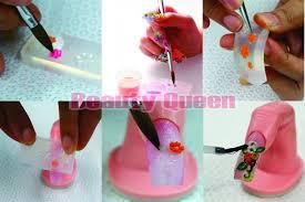 mixed 80 designs 3d nail art acrylic silicon silicone nail mold