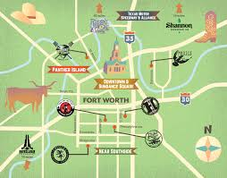 Ft Worth Map Fort Worth Cvb Launches U201cale Trail U201d For Nine Local Breweries