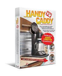 amazon com handy caddy sliding kitchen under cabinet appliance