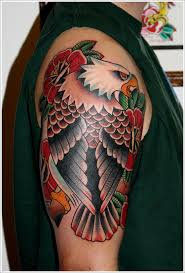 white eagle tattoo designs for men on sleeve eagle tattoo ideas