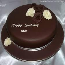 rose chocolate birthday cake zaid