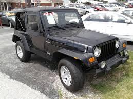 2004 jeep wrangler sport 2004 jeep wrangler sport 4wd 2dr suv in charles mo jdf auto