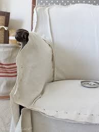 Slipcovers Made From Drop Cloths Armchair Slipcover U2013 Thistle Key Lane