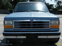 1991 light crystal blue metallic ford explorer xlt 4x4 545428
