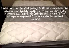 bed pillow topper bamboo pillow top mattress pad review six time mommy and counting