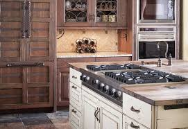 Oak Kitchen Cabinets Painted White All Wood Cabinets Sunshiny Granite Counter With Bulb Lamp