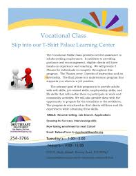 resume writing workshop southeast health group t shirt palace learning center vocational class