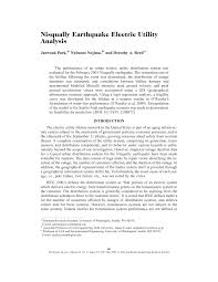 Inno Infr by Nisqually Earthquake Electric Utility Analysis Pdf Download