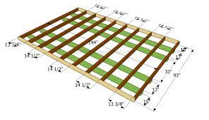 how to frame a floor building floor frame home plans blueprints 48401