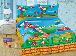 Mario Bedding Set Mario Bros Duvet Cover Flat Sheet Pillow Cases Bedding Set Ebay