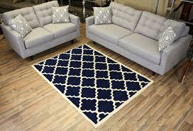 amazon com modela collection trellis modern area rug rugs navy