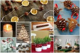 Home Made Christmas Decor 32 Homemade Eco Friendly Christmas Decorations That Look Stunning