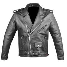 leather cycle jacket police leather jacket ebay