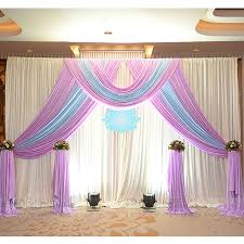 wedding backdrop taobao 3m 3m silk wedding backdrop curtain with swags wedding props