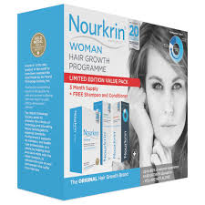 medal gold hair products nourkrin woman value pack contains 180 tablets plus shoo and