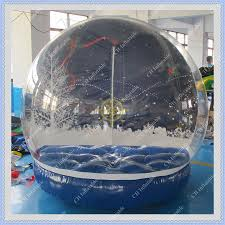 sale outdoor christmas photo snow globe 2 meters inflatable