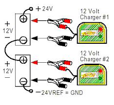 connecting batteries u0026 chargers in series u0026 parallel deltran