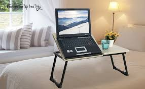 Bed Desks For Laptops Coavas Portable Laptop Stand Table Adjustable Notebook Stand