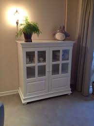 buy 98 white sideboard with glass doors on livemaster online shop